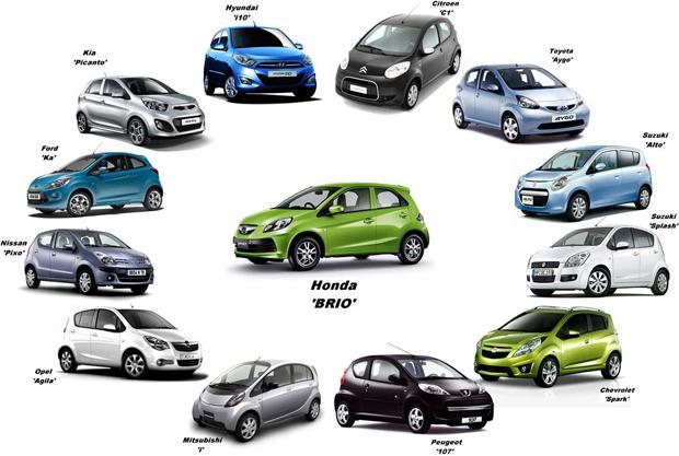 Koleksi beberapa mobil LCGC di Indonesia