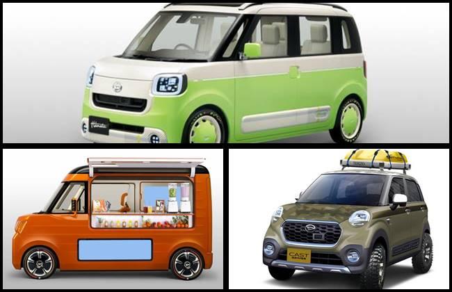 Daihatsu mobil konsep di IIMS pada tahun-tahun yang lalu
