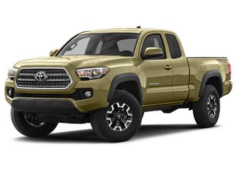 Toyota Tacoma dilihat dari depan