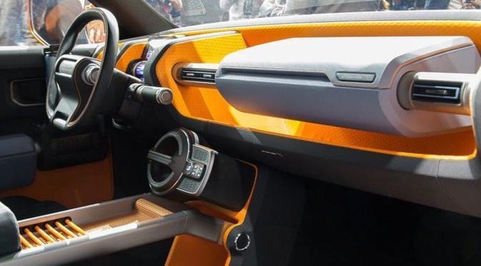 Toyotya FT-4X warna kuning