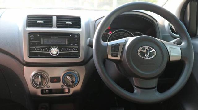 Setir dan hasboard Toyota New Agya