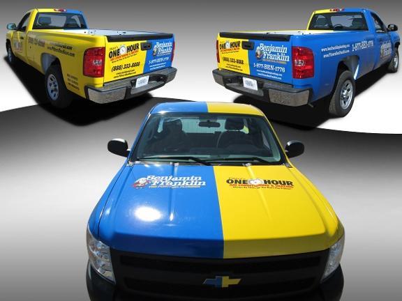 Gambar mobil di tiga aspek yaitu dari depan, samping dan belakang