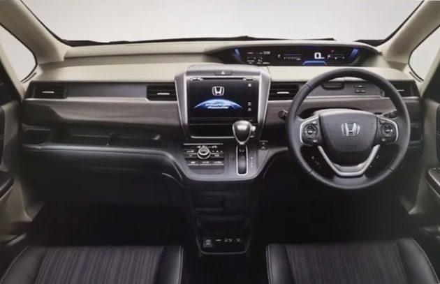gambar bagian indikator mobil Honda Freed 2017 dengan setirnya