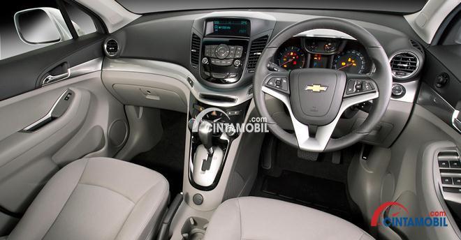 Gambar interior mobil Chevrolet Orlando 2017