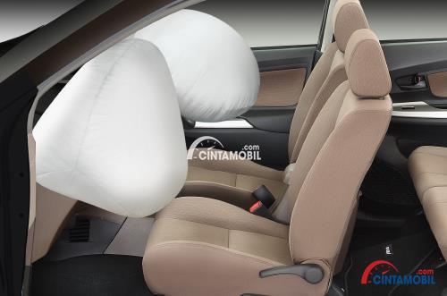 Gambar menunjukkan fitur SRS Airbag Daihatsu Xenia