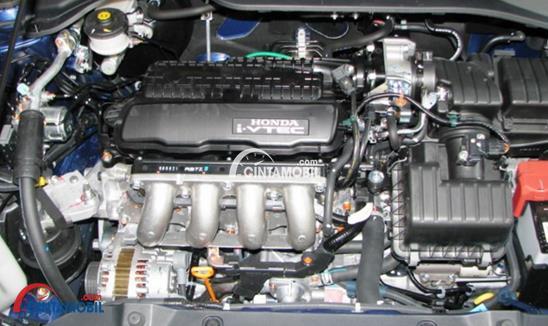 Gambar bagian Mesin mobil Honda City 2010