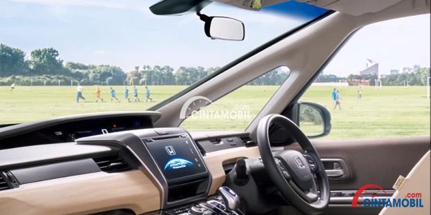 Gambar yang menunjukkan Visibilitas Honda Freed 2017