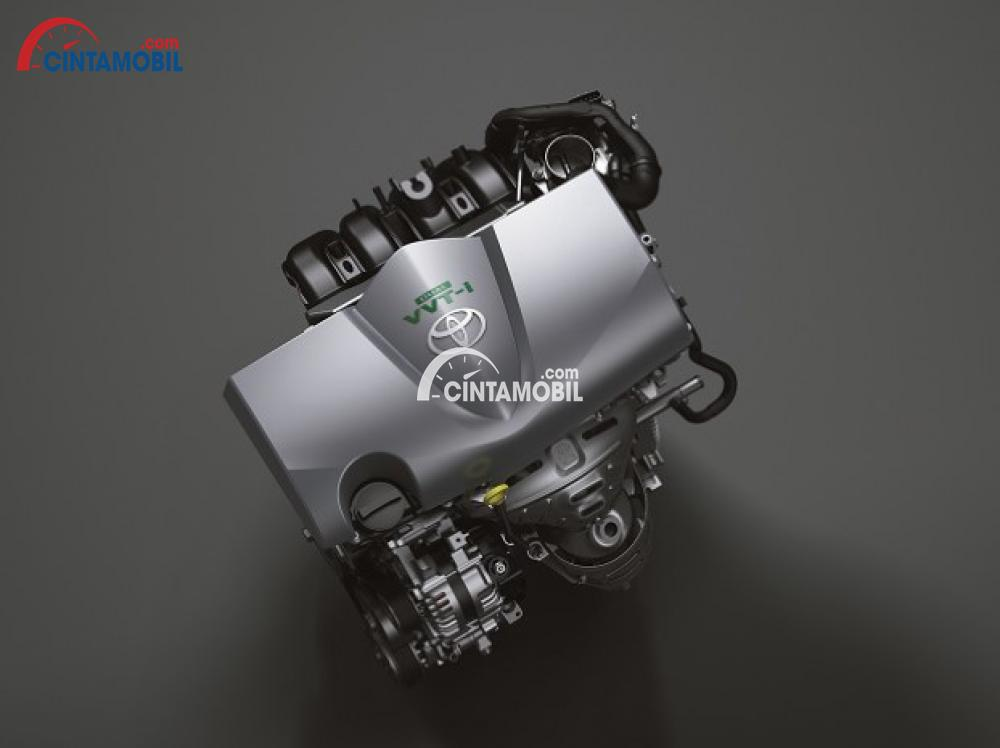 Gambar mesin berteknologi Dual VVT-I Toyota Vios 2018