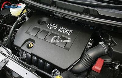 Mesin 3ZR-FAE berteknologi Valvematic mobil Toyota NAV1