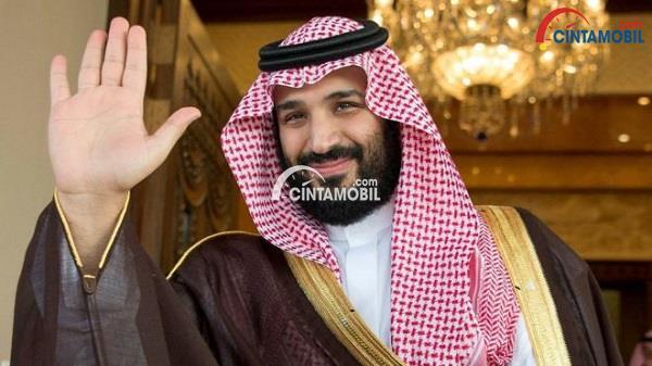 Putera mahkota kerajaan Arab Saudi yang sekarang menjadi penerus tahta