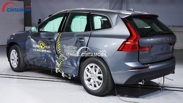 Hasil tes yang dilakukan oleh Euro NCAP pada mobil Volvo XC60