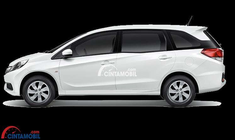 gambar bagian samping Honda Mobilio 2015 berwarna putih