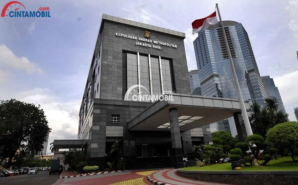 Kantor polisi daerah pusat yang ada di Jakarta