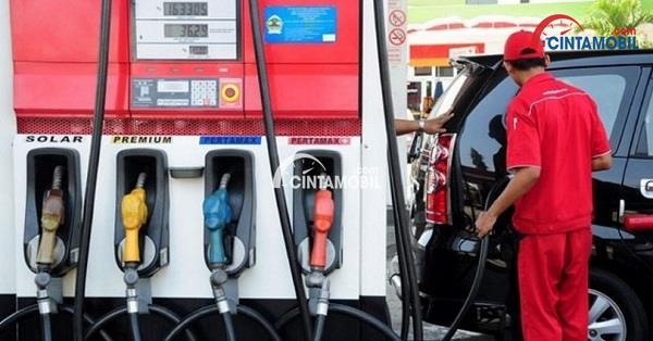 Berbagai jenis bahan bakar yang ada pada pengisian bahan bakar di Indonesia