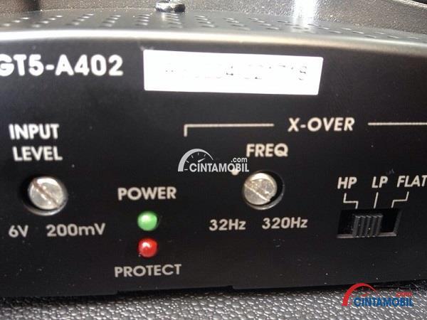 Bagian pengaturan yang terdapat pada sistem audio mobil