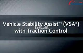 Teknologi VSA dan TRAC telah dihadirkan dalam Honda Fit yang sekaligus menjadi salah satu kelebihan Honda Fit
