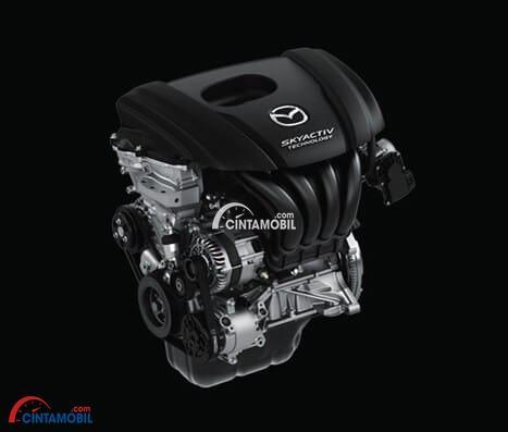 Gambar bagian mesin mobil Mazda 2 2017