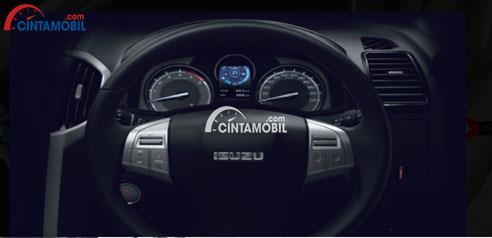 Fitur audio Steering switch mobil Isuzu MU-X 2017