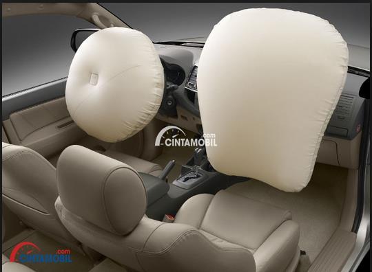 gambar airbag Toyota Fortuner 2015
