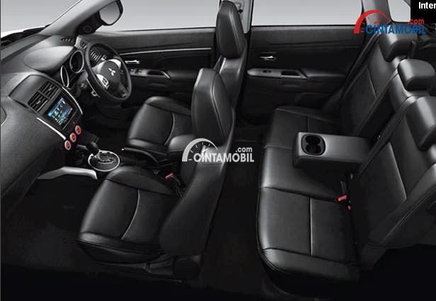 Gamabr ruang Kabin mobil Mitsubishi Outlander Sport 2017
