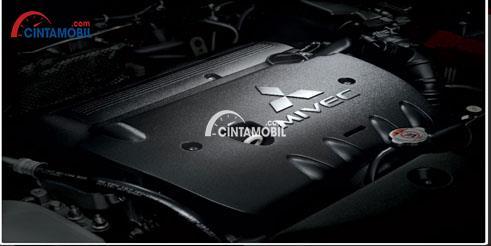Bagian mesin mobil Mitsubishi Outlander Sport 2017