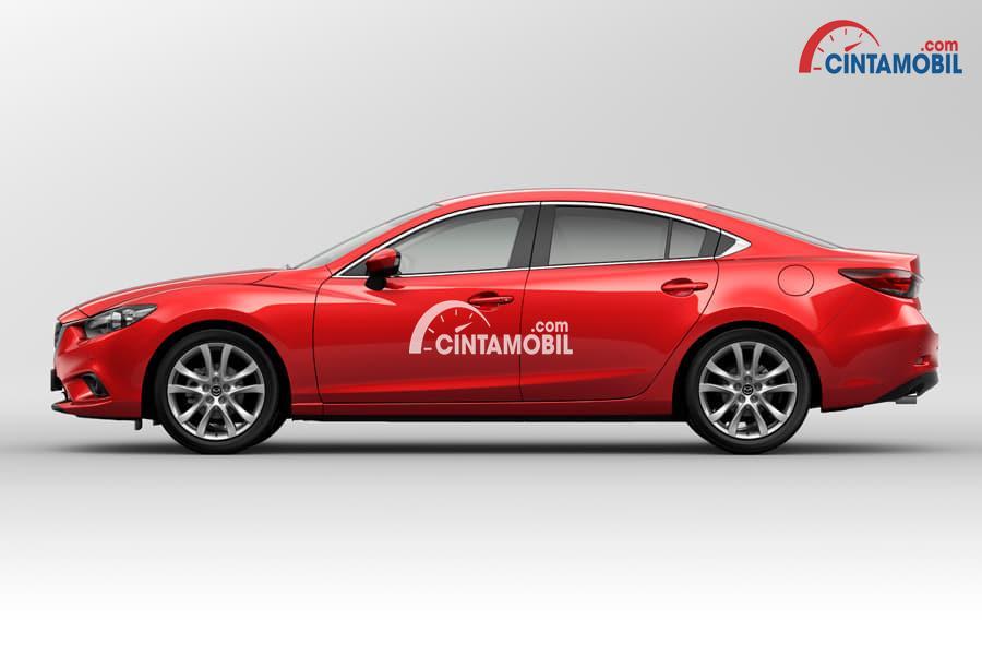 gambar bagian samping Mazda 6 2017