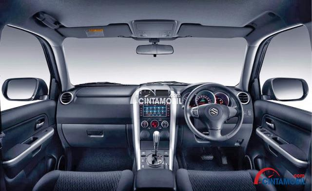 gambar dashboard dan setir Suzuki Vitara 2016