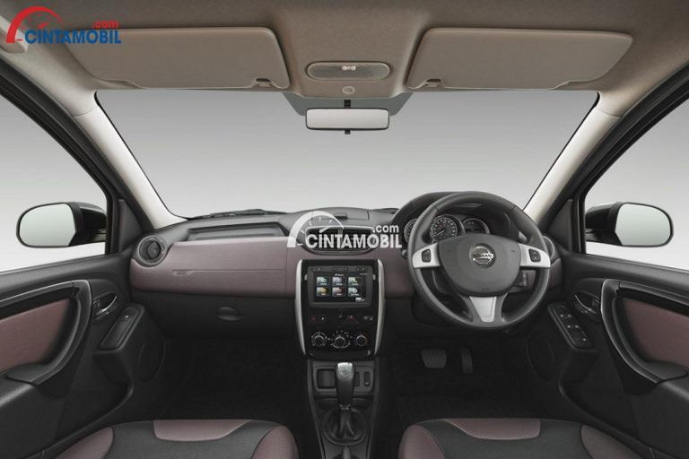 Gambar bagian dashboard mobil Nissan Terrano 2017