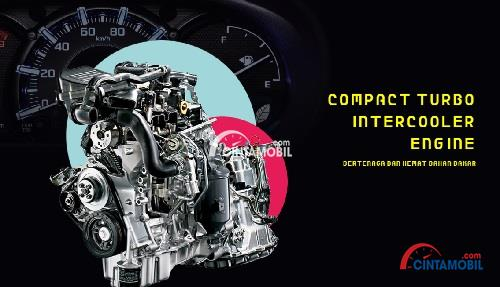 Daihatsu Copen menggunakan mesin berkapasitas 658 cc yang mampu meraih daya maksimum sebesar 6.400 Rpm