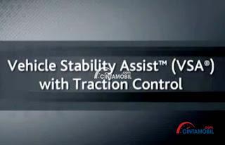Honda Stream menghadirkan teknologi VSA dan TRAC sehingga performanya menjadi semakin handal terutama pada proses manuver di jalanan kota