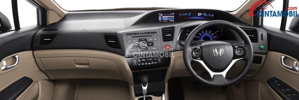 Gambar ruang kabin mobil Honda Civic