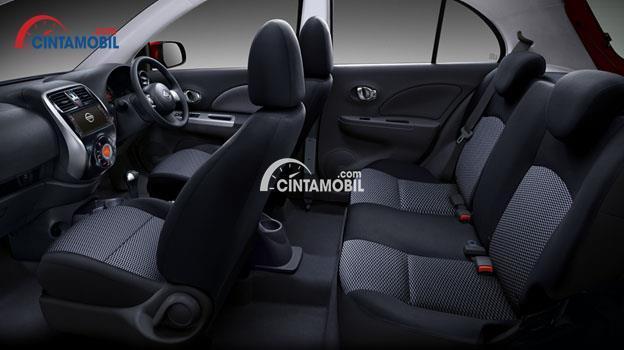 Ruang Kabin mobil Nissan March 2017