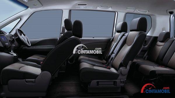 Kabin Nissan Serena 2017 sangat luas