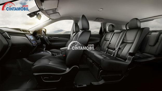 Gambar ruang Kabin mobil Nissan X-Trail 2017