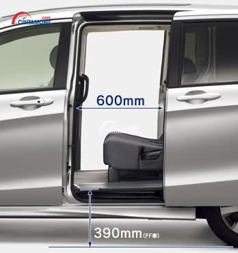 Fitur Power Sliding Door di mobbil Honda Freed 2016