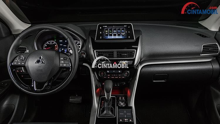 Gambar yang menunjukan desain interior Mitsubishi Eclipse Cross