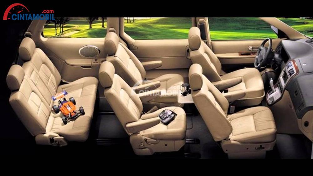 Gambar bagian kursi mobil Kia Sedona 2016