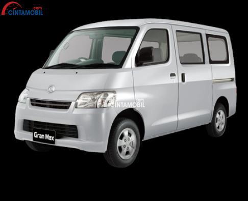 Sisi depan Daihatsu Gran Max menggunakan desain bodi yang boxy dan cukup modern