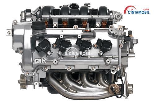 Mesin Daihatsu Gran Max menggunakan 4 silinder segaris yang mampu meraih daya maksimum 6.000 Rpm
