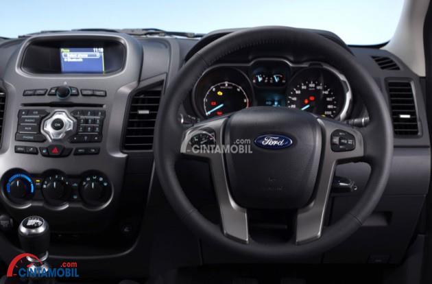 Gambaar bagain setir mobil Ford Ranger 2013