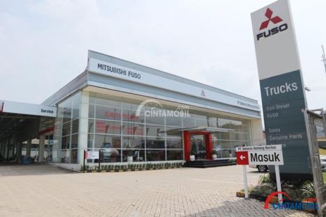gambar menunjukkan Dealer Mitsubishi Fuso - Parung Bogor