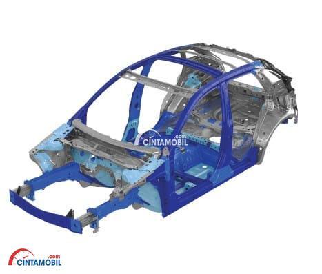 Rangka Kokoh di mobil Mazda CX-3 2017