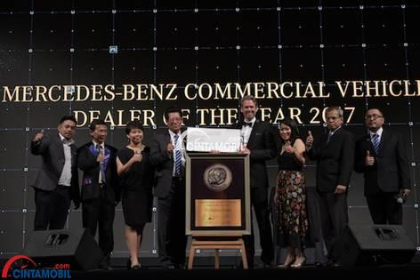 Penghargaan Mercedes–Benz terhadap Dealer di Indonesia dalam Car Dealer of the Year 2017
