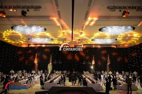 Suasana Dalam Acara Penganugerahan Dealer of The Year 2017 di Bandung, Jawa Barat