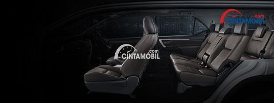 Gambar bagian Interior mobil Toyota Fortuner 2017