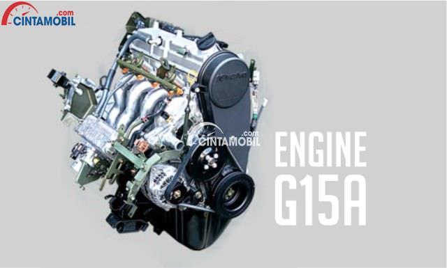 Mesin Suzuki Carry menggunakan tipe G15A yang tampil bertenaga dengan kapasitas silinder sebesar 1.493 cc