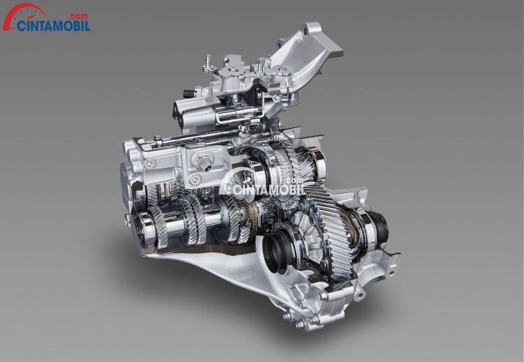 Gambar yang menunjukan mesin injeksi lansung Dynamic Force Engine 2.0 Liter Toyota