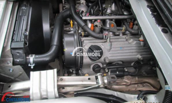 Mesin Suzuki Futura ditawarkan ke dalam dua pilihan kapasitas yakni 1.3 Liter dan 1.5 Liter