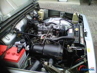 Mesinnya yang tampil irit bahan bakar menjadi salah satu kelebihan Suzuki Katana