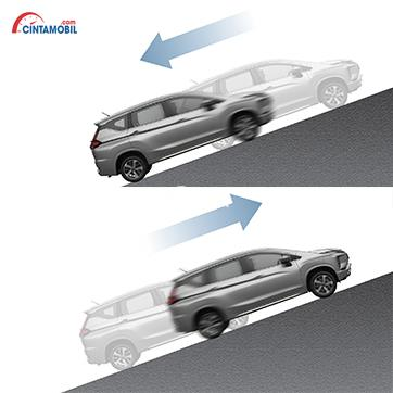 Teknologi Hill Start Assist menjadi salah satu fitur Mitsubishi Xpander